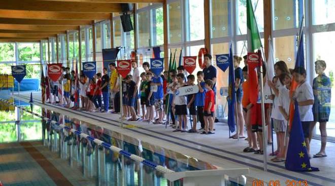 Asd Bordighera Nuoto Lignano Sabbiadoro Campionato Nazionale CSI 2013