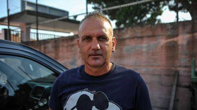 L'allenatore Andrea Caverzan