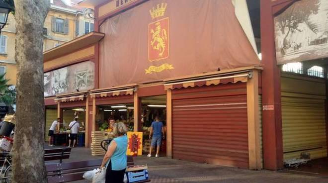 Tendone mercato coperto Ventimiglia
