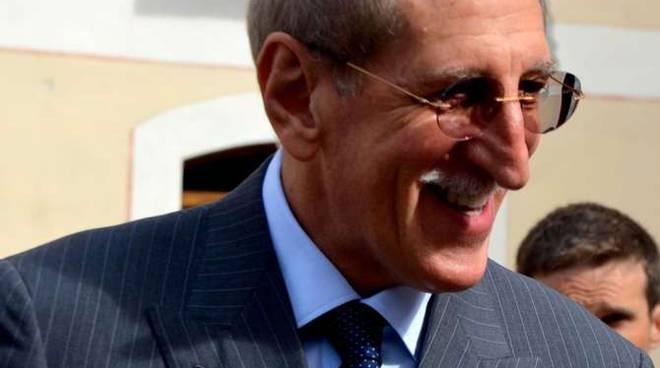 Il presidente della provincia di Imperia, Luigi Sappa