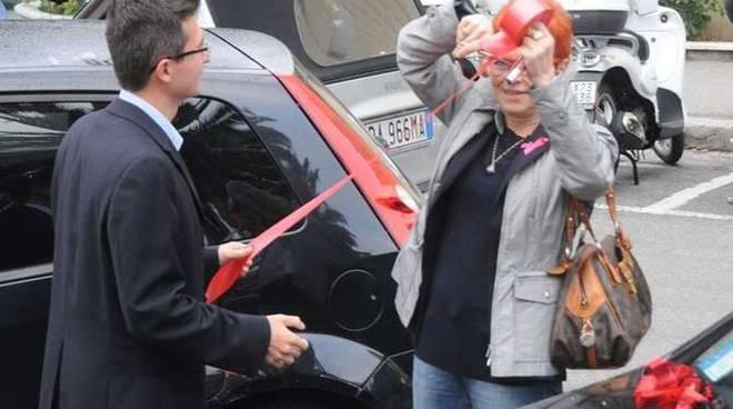 Protesta avvocati Sanremo fiocco rosso 9 ottobre 2013