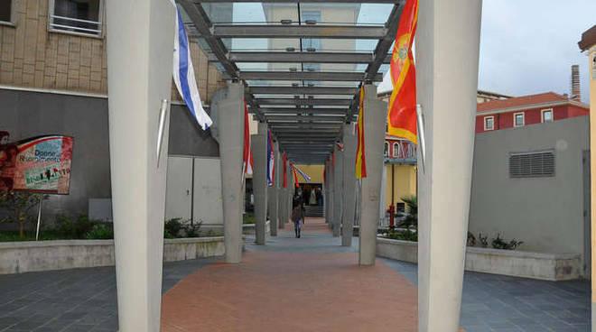 generica auditorium camera di commercio inugurazione forum alimentazione mediterranea olioliva imperia 2013 14/11/13