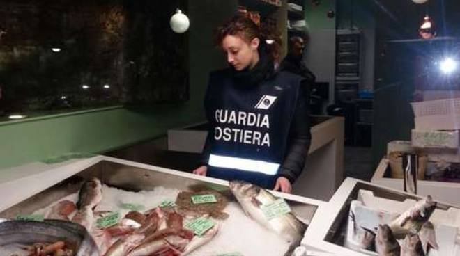 Sequestro pesce guardia costiera operazione clear label generica