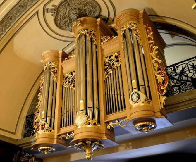 organo chiesa santa devota
