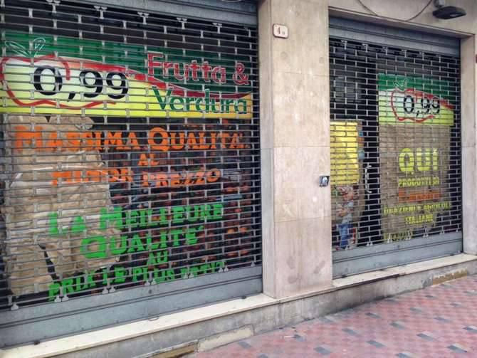 Negozio Ortofrutta 099 Centesimi Ventimiglia