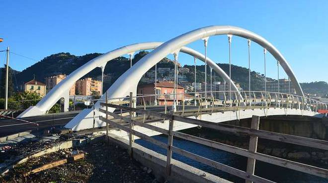 Vallecrosia nuovo Ponte torrente Verbone