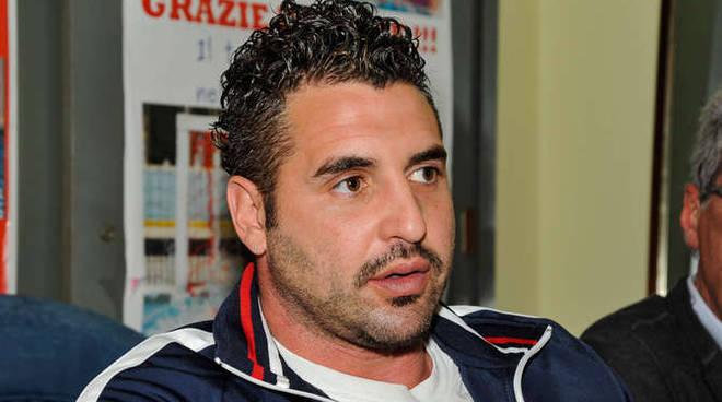 Marco Capanna, allenatore della squadra di pallanuoto femminile Mediterranea