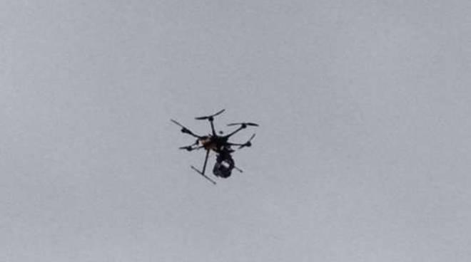 Drone porto Sanremo