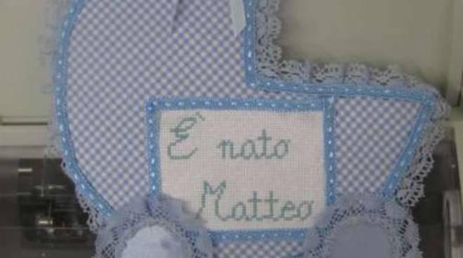 Fiocco azzurro Matteo