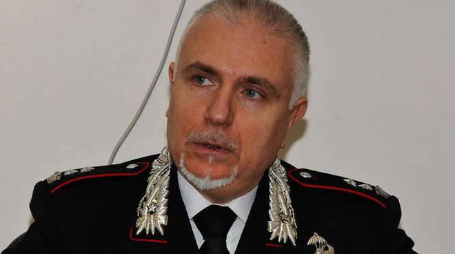 Il Comandante Provinciale, Ten. Col. Luciano Zarbano