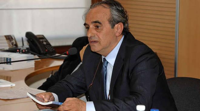 il presidente dell'Associazione Cronisti Liguri, Natalino Famà