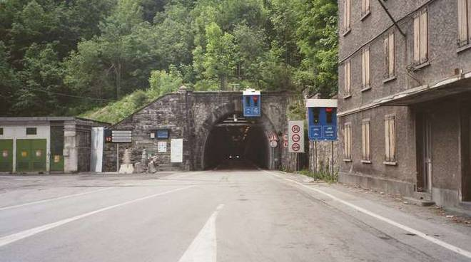 colle di tenda tunnel