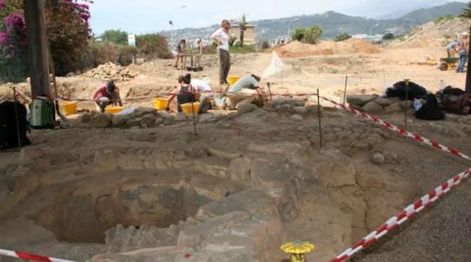 scavi archeologici don riva ligure