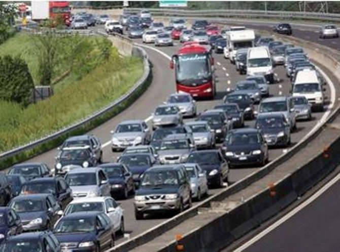 Coda generica autostrada