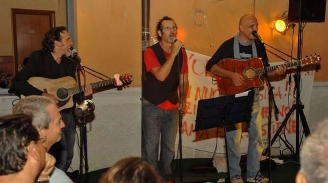 (T)recital da sinistra: Rafael Didoni, Germano Lanzoni e Flavio Pirini