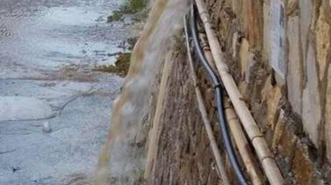 Lavori Diano Marina acquedotto Amat
