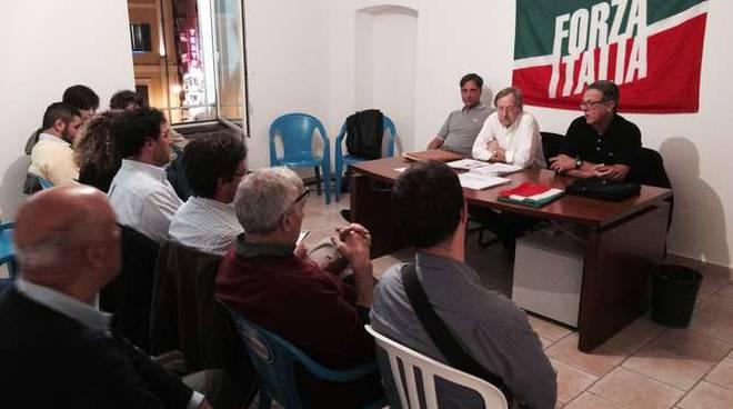 riunione forza italia sanremo bilancio