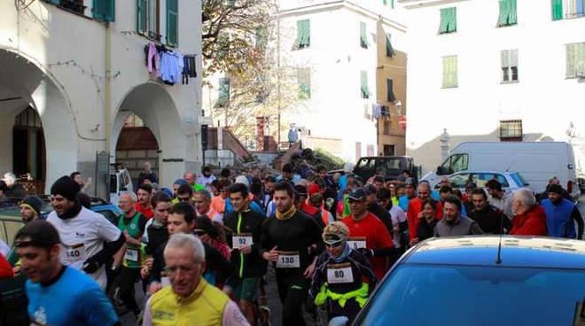 prima corsa storica taggia - febbraio 2015 associazione free running arma di taggia