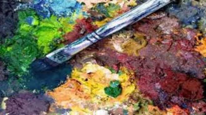 tavolozza pittura colori generica
