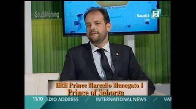Marcello Menegatto Principe Seborga
