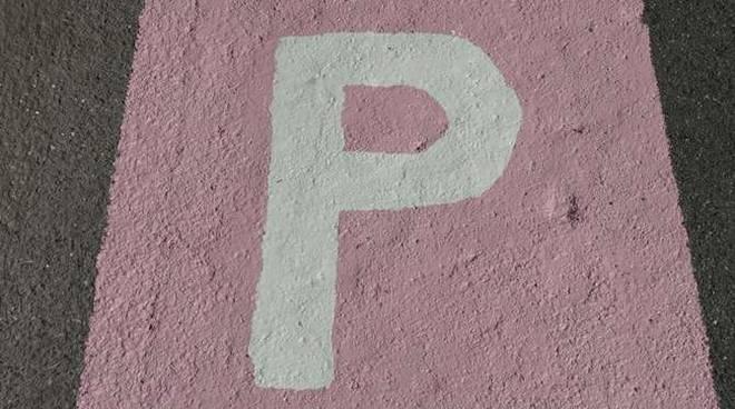 presentazione parcheggi rosa taggia - un gesto di civiltà
