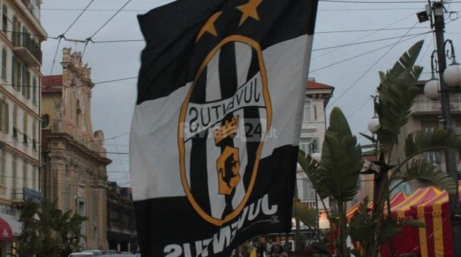 31° scudetto Juventus festeggiamenti a Sanremo