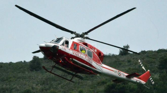 elicottero 115 elisoccorso vigili fuoco 118 croce rossa generica soccorsi