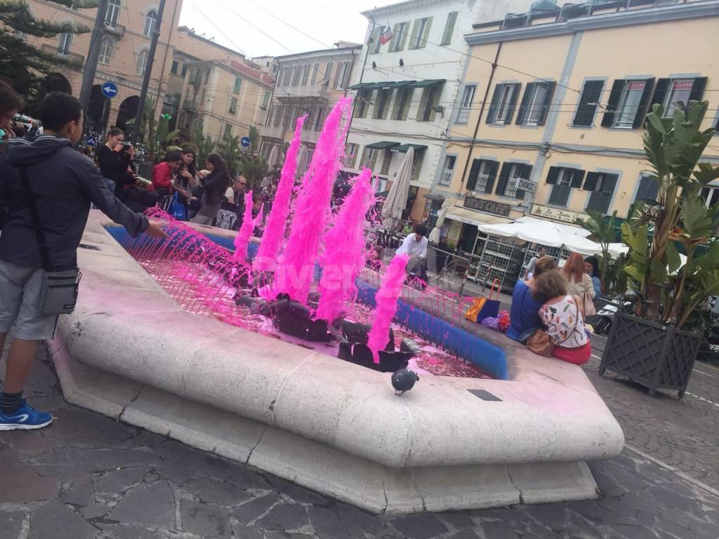 fontana sanremo rosa