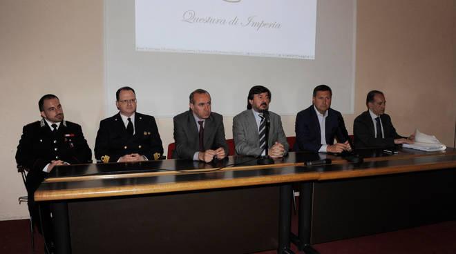 giro d'italia conferenza questura