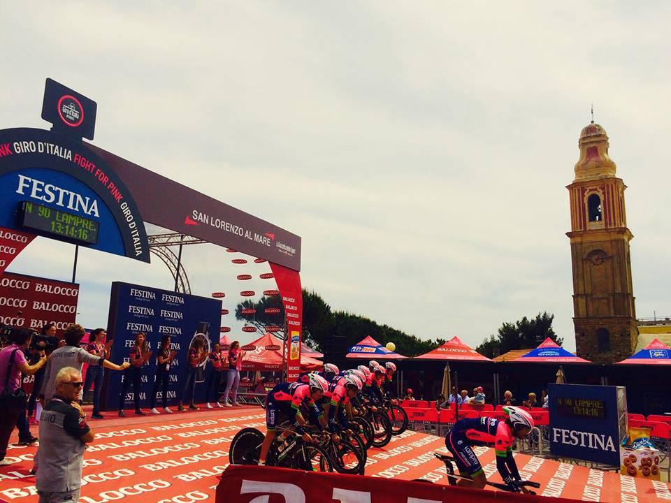 Giro d'Italia San Lorenzo al Mare