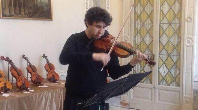 il Duo Giovanni Sardo al Violino e Sergio Scappini