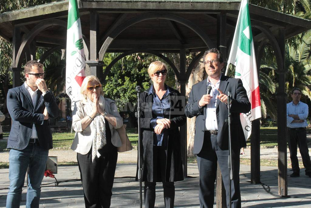 Ministro Pinotti a Ventimiglia