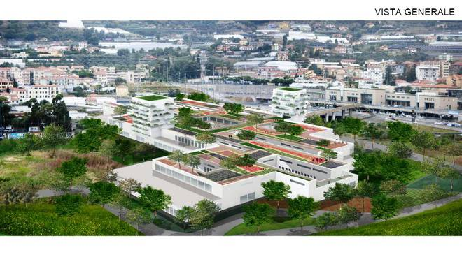 ospedale unico progetto