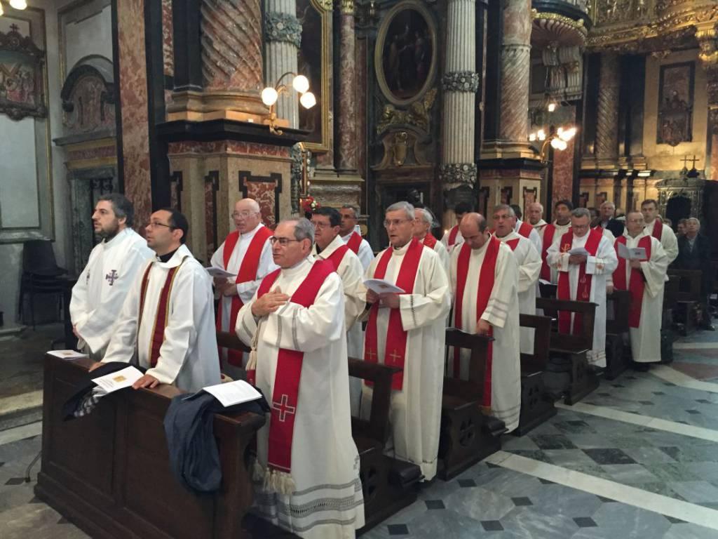 pellegrinaggio sacerdoti Torino sindone