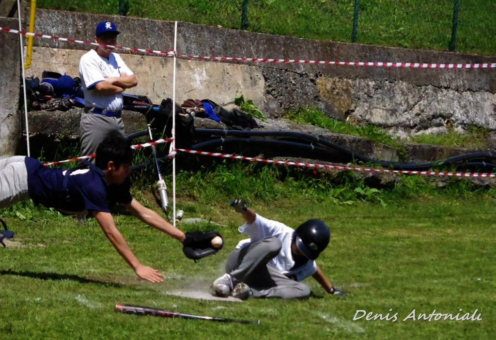 sanremo baseball  vs rookie cadetti maggio 2015