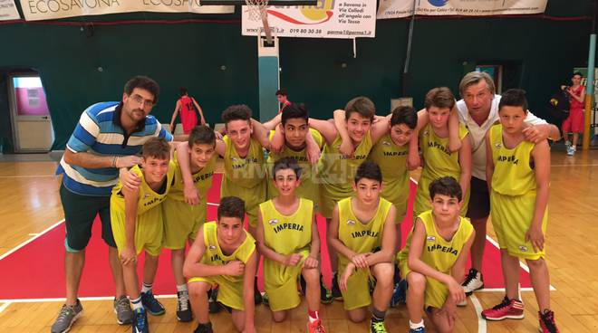 selezione imperiese basket