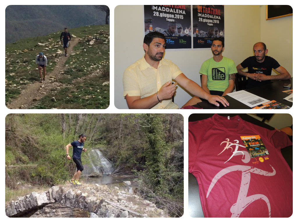 ultra trail della maddalena collage