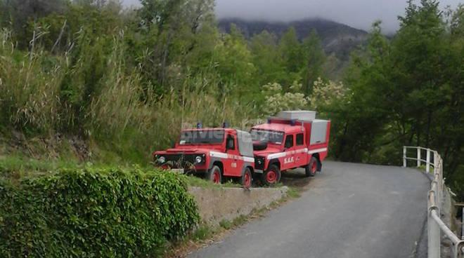 vigili del fuoco ricerche