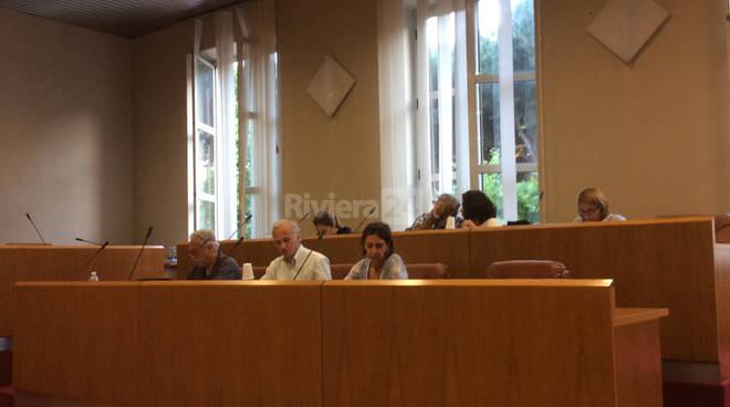 Consiglio comunale Ventimiglia 28 giugno