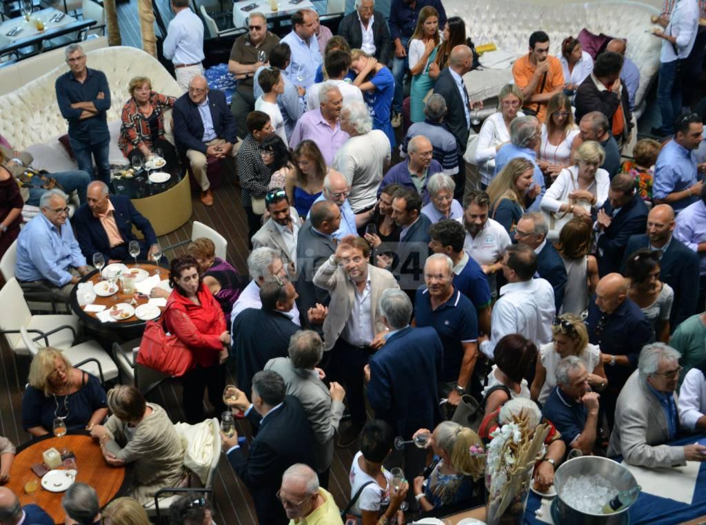 marco scajola festeggiamenti rielezione morgana
