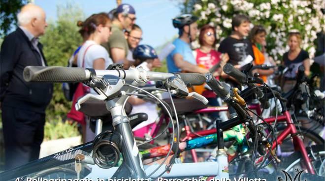 parrocchia villetta pellegrinaggio bicicletta