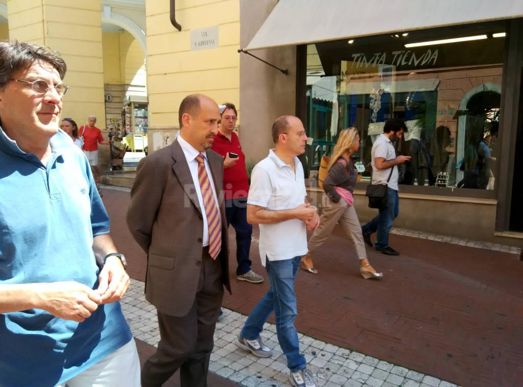 Tour Capacci Oneglia commercianti degrado