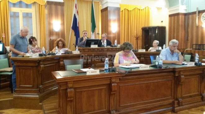 consiglio comunale collette ozotto sanremo 21 luglio 2015