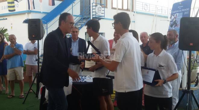 Yacht Club Sanremo - Quattro sanremesi campioni del mondo di vela classe 420 under 17 in Giappone