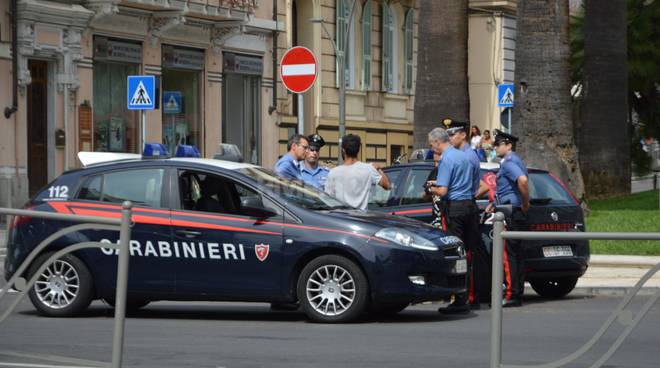 arresto carabinieri via n bixio corso mombello sanremo agosto 2015