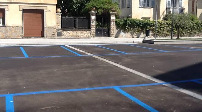 Inaugurato il parcheggio di via Benza