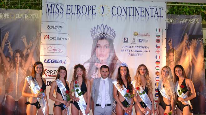 miss europe continental finale