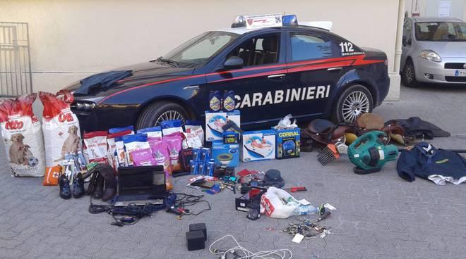 carabinieri imperia refurtiva