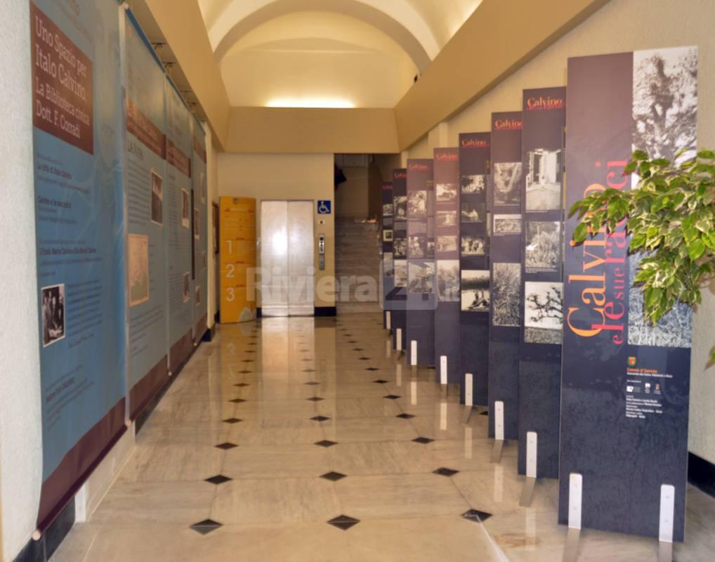 inaugurazione spazio calvino biblioteca civica sanremo