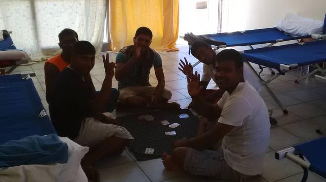 migranti al Centro di Solidarietà l'Ancora